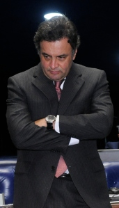Aécio Neves: piada pronta
