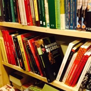 Encontrei a primeira edição de Morcegos Negros nas prateleiras da maravilhosa Librairie Portugaise et Brésilienne de Paris